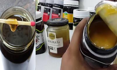 ΝΟΘΕΥΜΕΝΟ Μέλι; Δείτε πως θα καταλάβετε την διαφορά με αυτό το απλό κόλπο