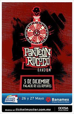 """Panteón Rococó versión """"Random"""" en el Palacio de los Deportes"""