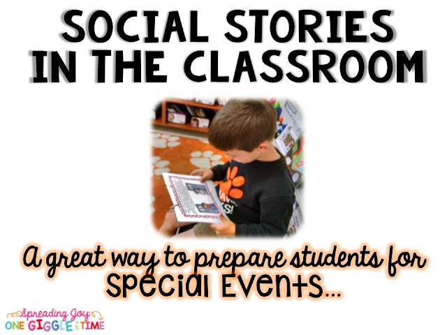 Using Classroom Social Stories is the perfect way to build strong classroom community. These social stories prepare students for back to school, safety procedures, cooperation, differences, special events, academic abilities, and getting along.