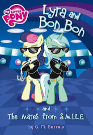 My Little Pony Lyra and Bon Bon and the Mares from S.M.I.L.E. Books