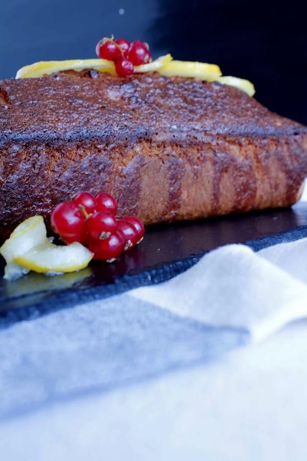 Receta Lemon Cake o bizcocho de limón