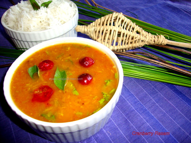 Photo of Cranberry Rasam