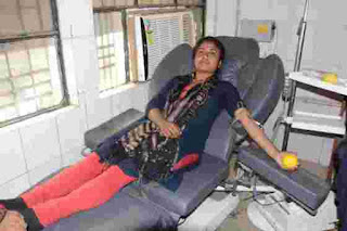 blood donation, lnmu, lnmu president,
