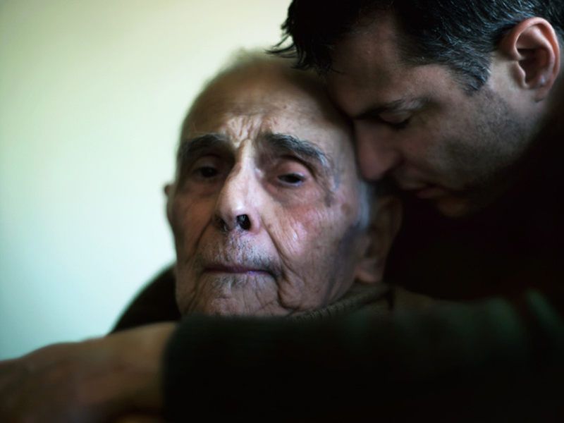 Phillip Toledano, photo, from his series 'Days with my Father'
