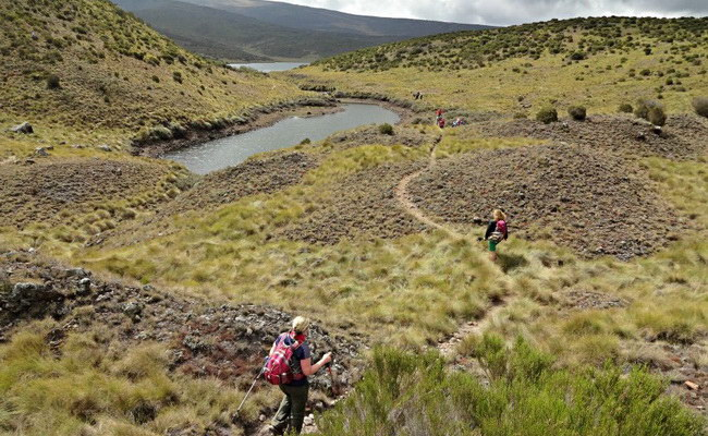 www.xvlor.com Mount Kenya National Park is reserve to protect 5199 meters stratovolcano