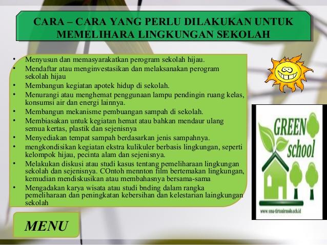 Kebersihan Lingkungan Sekolah Menjaga Kebersihan Lingkungan Sekolah