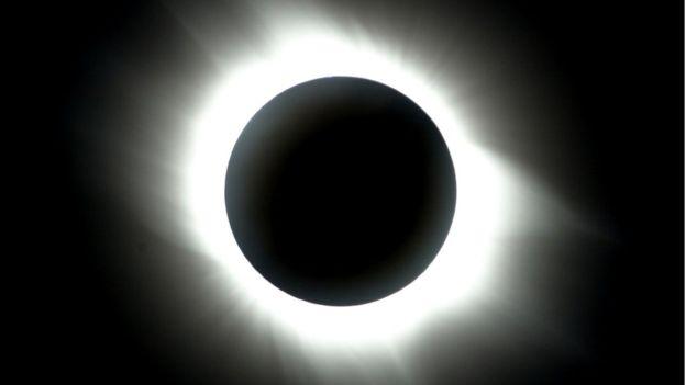 países donde se podrá ver el eclipse solar de Hoy  21 de agosto
