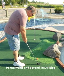 Harbor Light Mini Golf Course in Wildwood Crest - New Jersey