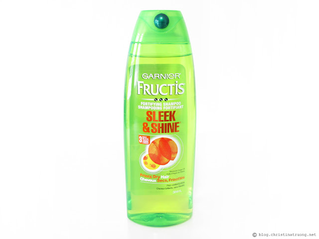 Garnier Fructis Sleek & Shine Shampoo Review