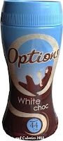 Options hot chocolate drink white