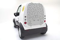 Honda and Kabuku Inc. unveil 3D Printed Micro Commuter Vehicle