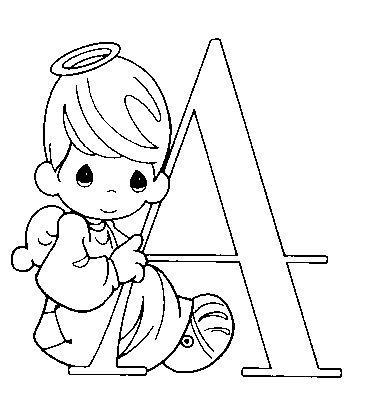 Precious moments alphabet