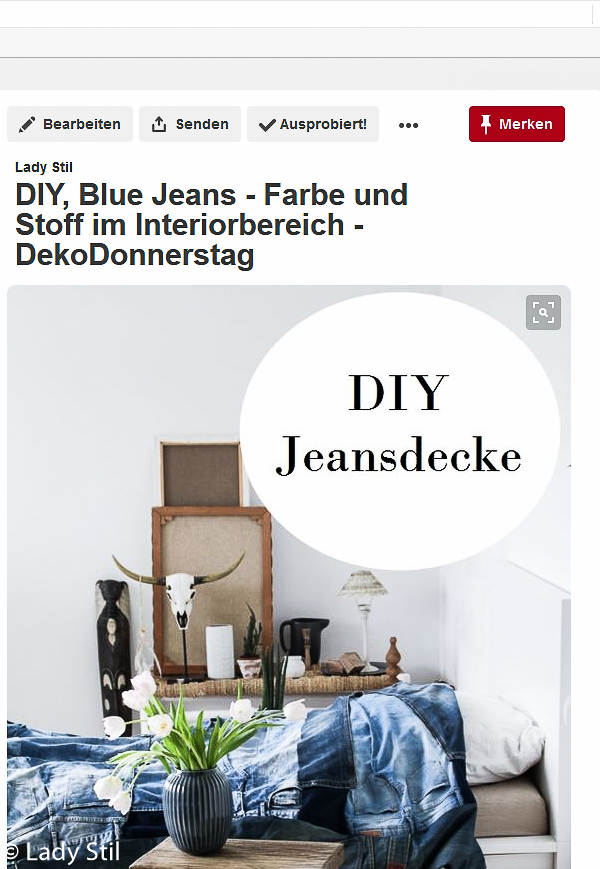 So funktioniert der Pinterest Ausprobiert-Button