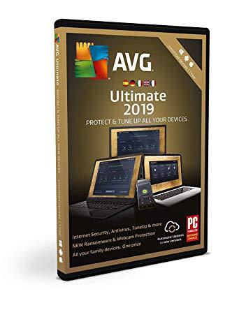 AVG Ultimate 2019+Clé de série Free Download