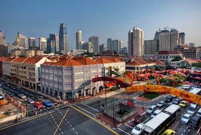 Chinatown Tempat Wisata di Singapura : tempatwisata.biz.id