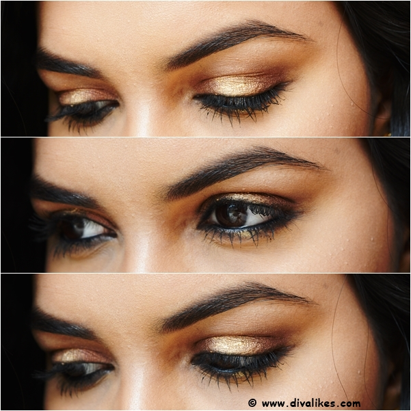 Diwali Eye Makeup Tutorial