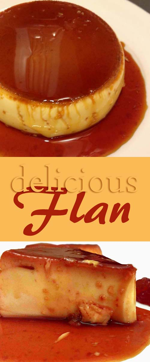 Delicious flan made with eggs and milk. Tastes so good. #flan #cincodemayo #easterrecipes