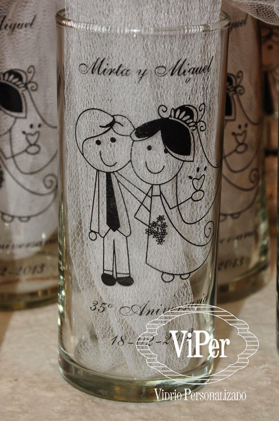 Vidrio Personalizado Y Decorado Vasos Originales Vasos De
