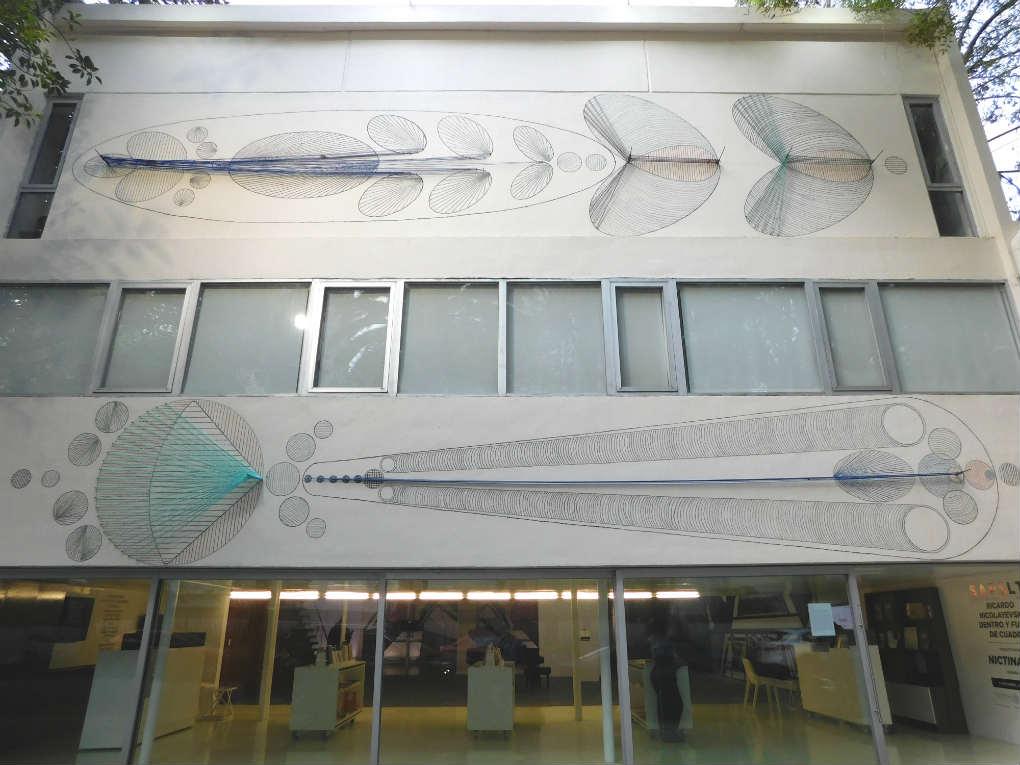 Nictinastia proyecto johanna unzueta caminando por la for Sala 2 conjunto de artes escenicas