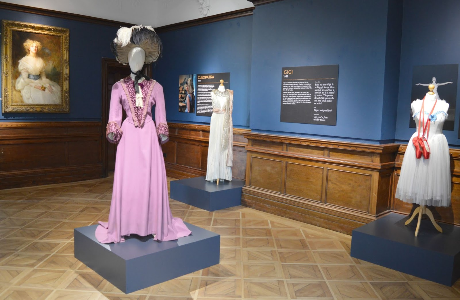 Preston Park Museum - Behind the Seams Exhibition