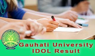 idol gu result 2018 - idolgu.in