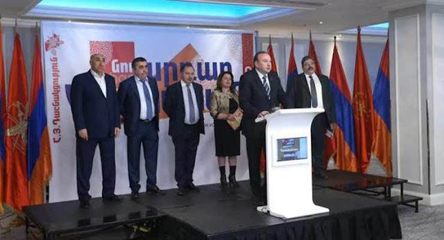 Dashnaktsutiún anuncia salida del gobierno