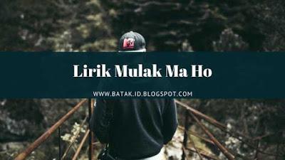 Lirik Mulak Ma Ho - Trio Century