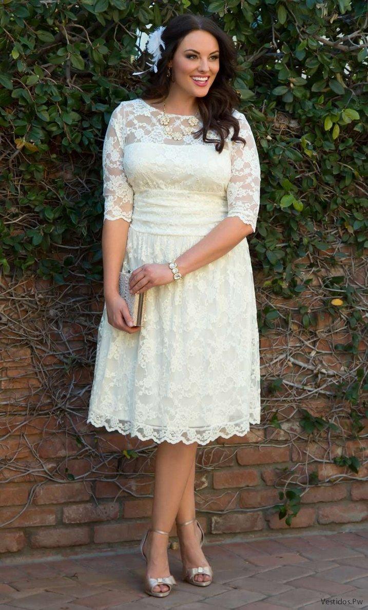 Vestidos de novia boda civil gorditas