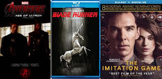 Age of Ultron; Blade Runner; Imitation Game
