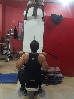 Close grip front lateral pull-down