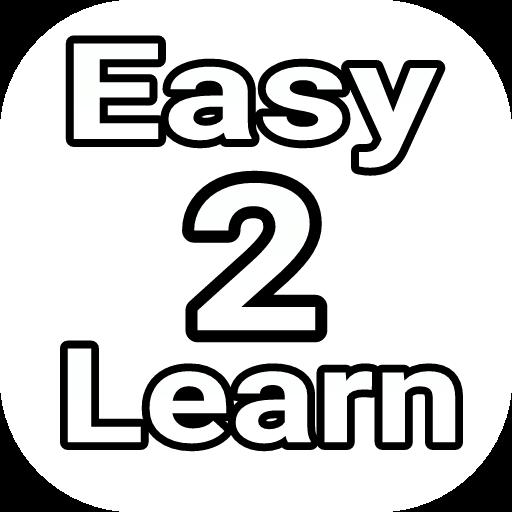 Easy 2 Learn अॅप
