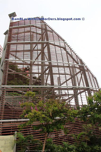 wind tower art installation, Ap Lei Chau, hong kong