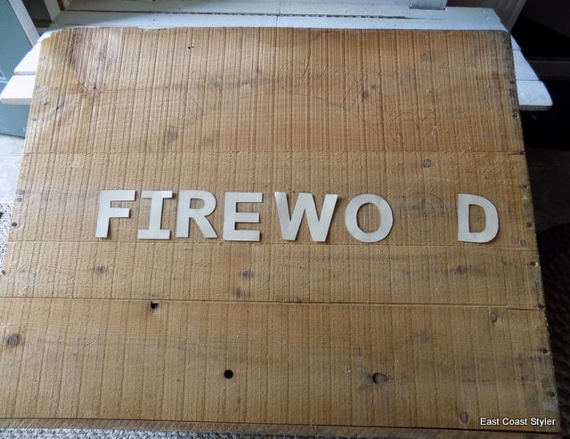 crate firewood