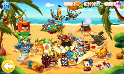 لعبة Angry Birds Epic  مهكرة للاندرويد