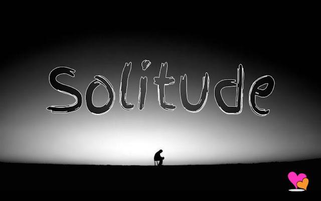 La solitude en image noir et blanc.