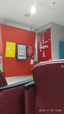 gambar suasana menunggu di klinik Paedatrik Hospital Putrajaya
