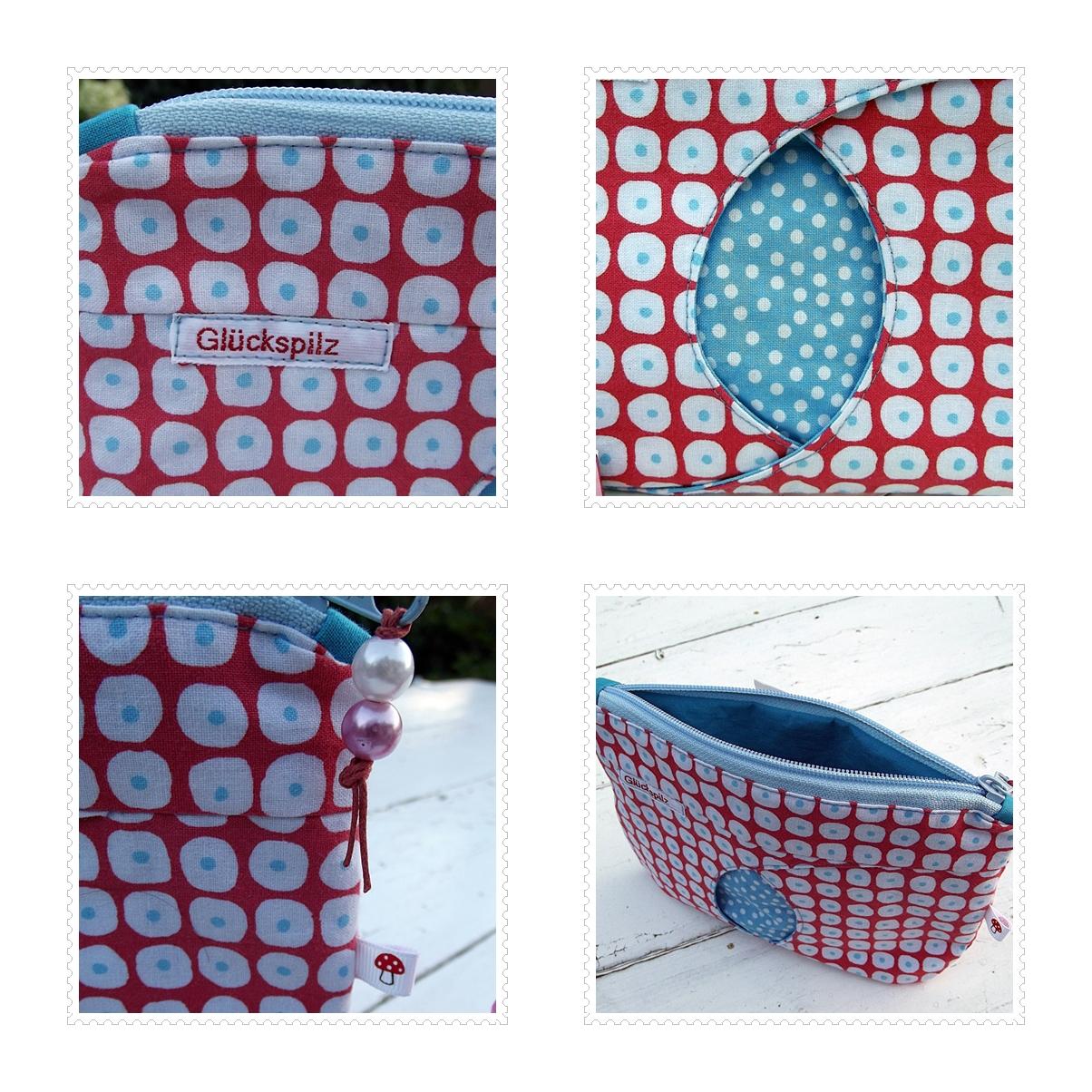 Katrins kleine Meisterwerke: Gucklochtasche - freies Muster