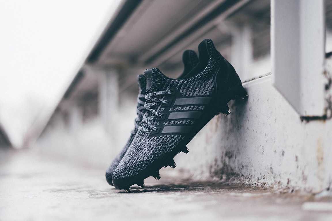 Triple Black Adidas Ultra Boost Cleat Revealed Footy