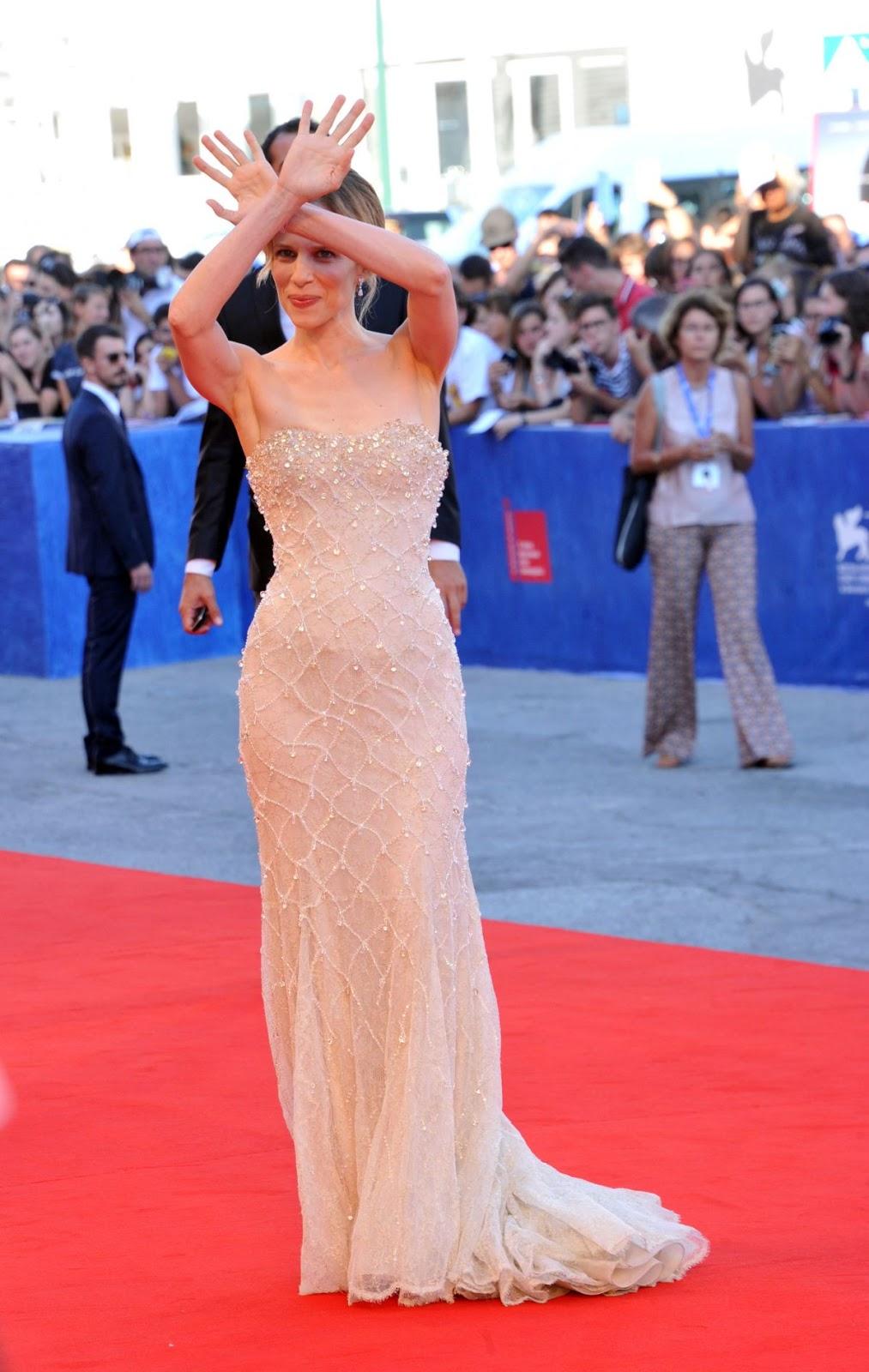 HD Photos of Sonia Bergamasco at La La Land Premiere at 2016 73rd Venice Film Festival