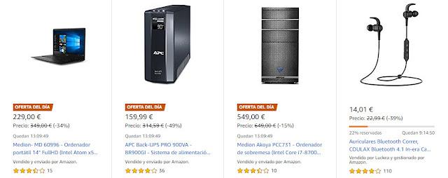 Ofertas Amazon 22 de octubre de 2018