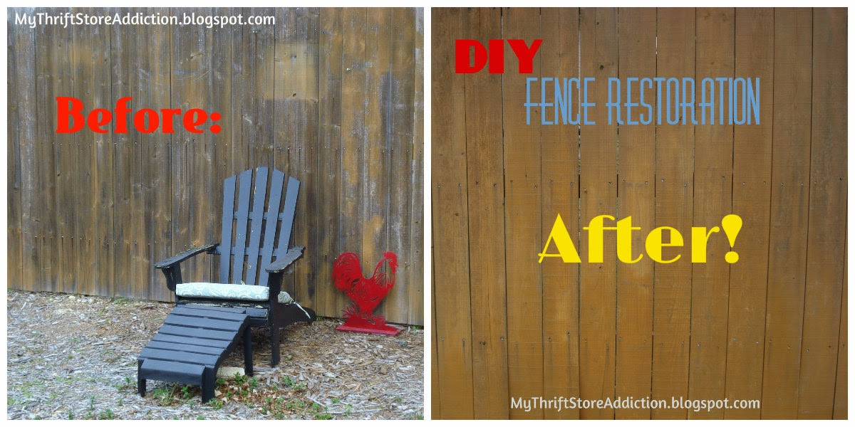 DIY Fence restoration