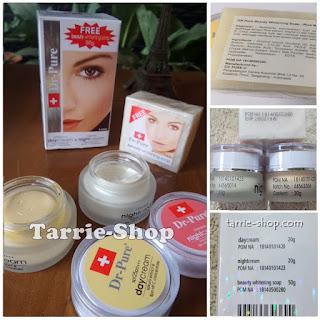 Paket DR PURE Cream+Sabun