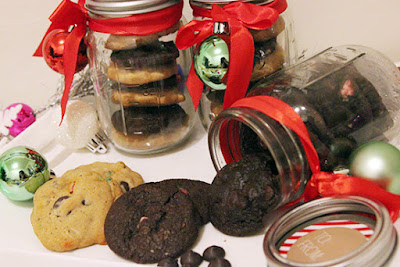 Nestle Holiday Chocolate Chip and Chocolate Peppermint Cookies