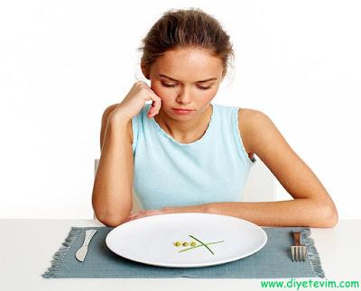 şok diyetin zararları