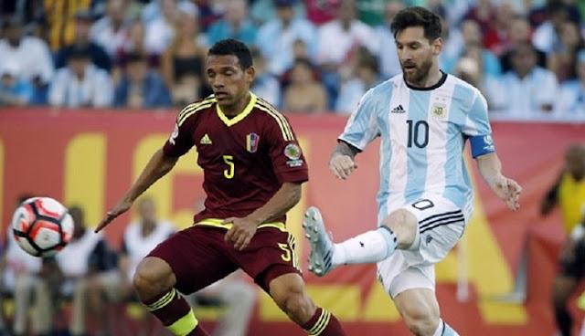 Venezuela vs Argentina en vivo online Eliminatorias Sudamericanas 5 setiembre