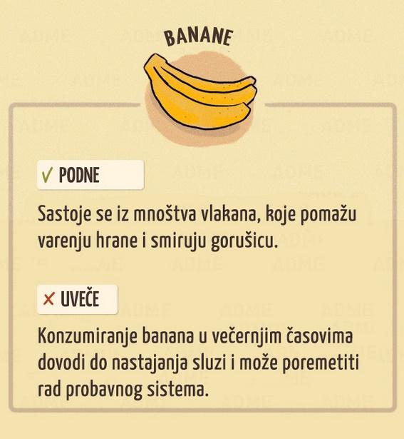 Konzumiranje banana