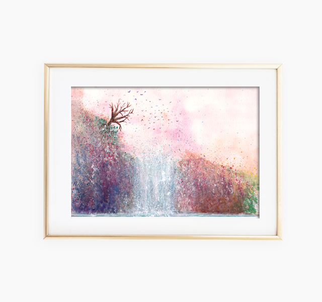 Waterfall Art