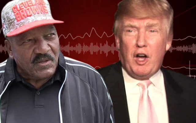 JIM BROWN PRAISES TRUMP 'I'm Pulling for the President'
