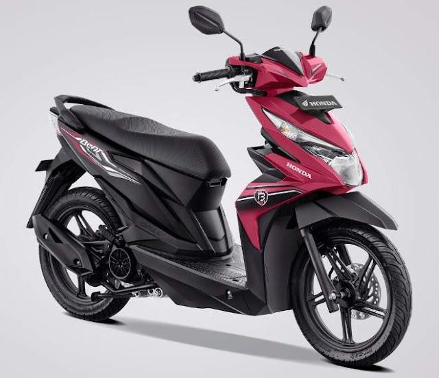 Warna Baru new Honda BeAT  eSP 2019 Pink