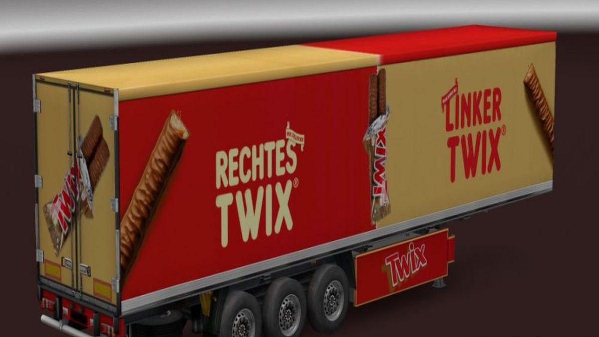 Krone Cooliner Twix Trailer